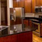 kitchen red 150x150 - 4 Tips to Clean Stainless Steel Countertops and Appliances