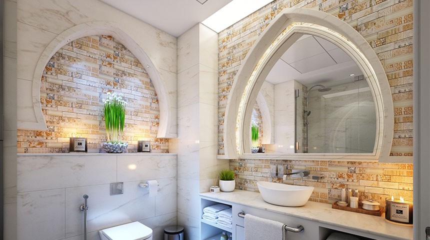 mirrors - 7 Home Design Tips to Follow Religiously